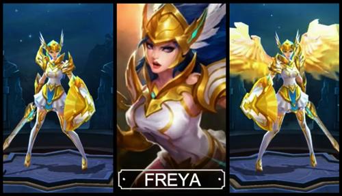 cara mendapatkan freya mobile legends